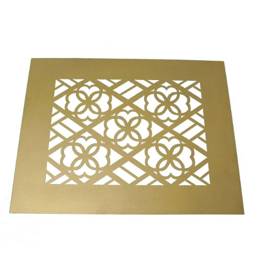 lighting fixture grate for a stage play