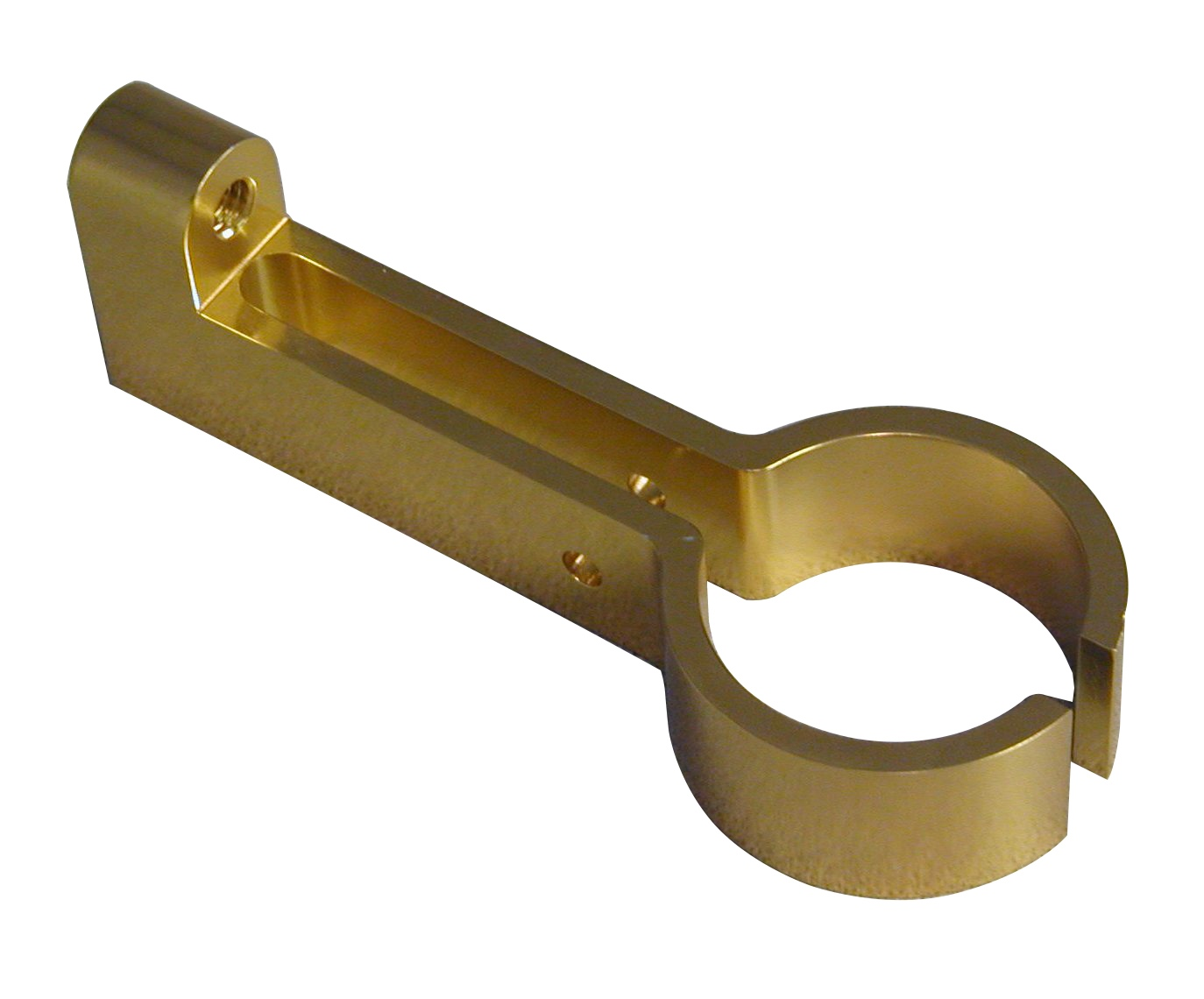 Milled brass clamp