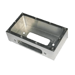 aluminum milled box for electrical compontents