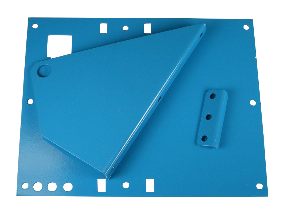 Powder Coated Laser Cut Sheet Metal Parts for a Winch