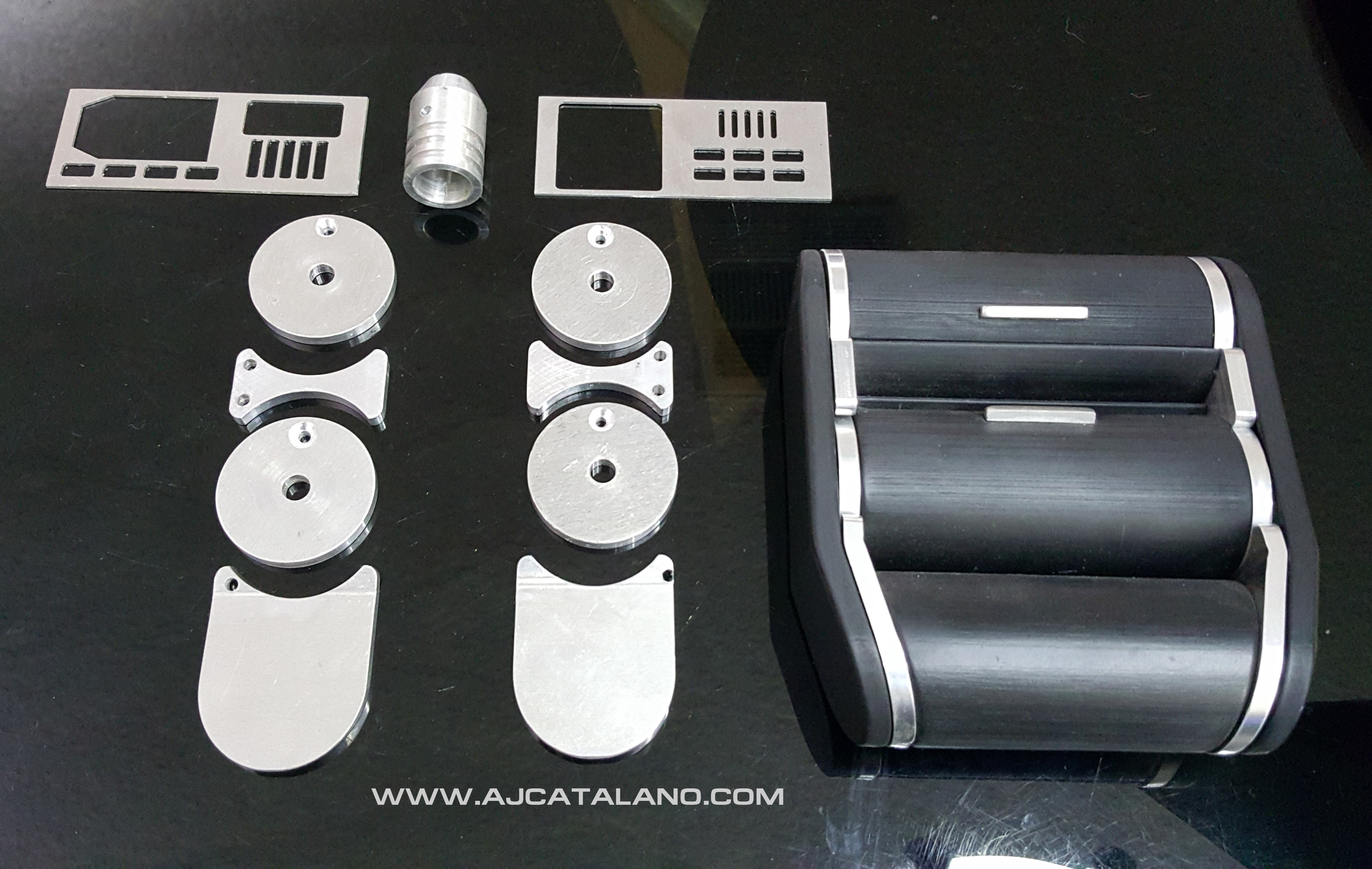 Tricorder Metal Parts